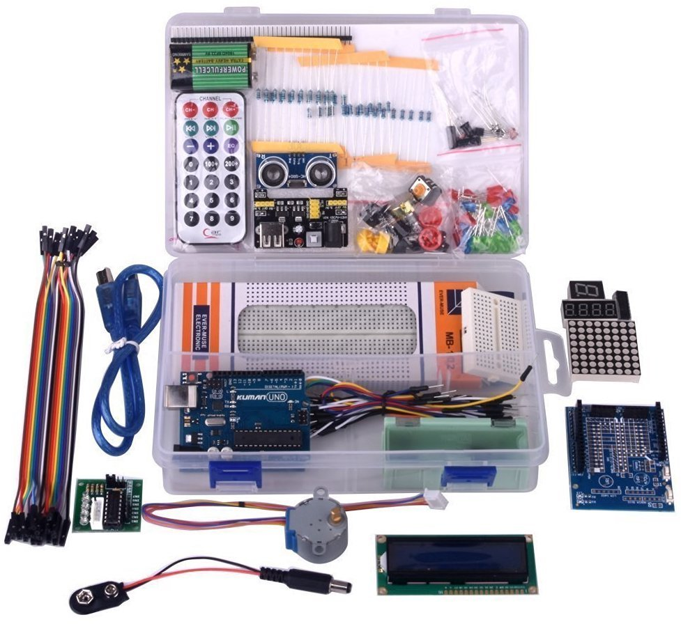 Kuman Project Complete Starter Kit для Arduino UNO